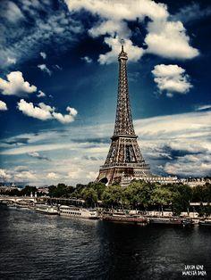 Eiffel Tower II by Maesta Dara