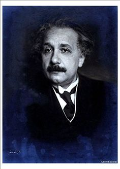 'Albert Einstein' (1) - A4 Glossy Print taken from An Old Photographic Portrait by Unknown http://www.amazon.co.uk/dp/B00DW371PO/ref=cm_sw_r_pi_dp_bUbtvb1GJ0K9R