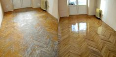 Learn how to restore hardwood floors without polishing.