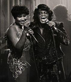 Aretha Franklin & James Brown