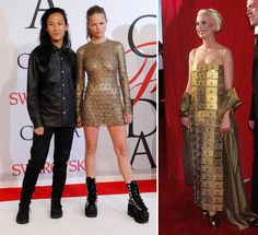 Amex by Alex: Alexander Wang Charges Up the Red Carpet with a Custom One-Off