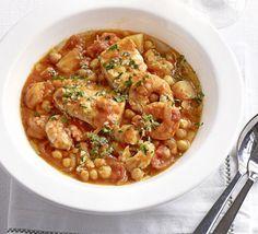 Spanish fish stew