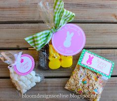 bloom designs: Easter Tag Redux and 100,000 View Give Away