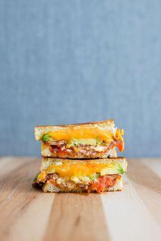 The Masochist Grilled Cheese | bsinthekitchen.com #grilledcheese #sandwich #bsinthekitchen