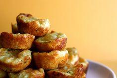 Cheddar Jalapeno Cornbread Muffins.