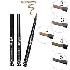 [Visit to Buy] Maquiagem Eyes Makeup Waterproof Eyebrow Pencil Long Lasting Eyeliner Eye Brow Pen Crayon Sourcils Make Up Brown Sobrancelha #Advertisement