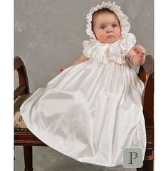 Isabella Baby Girl's Discount Christening, Baptism or Blessing Gown-12 Month