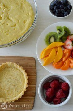 Masa quebrada dulce para tartaletas (receta fácil) Brownie Desserts, Mini Desserts, Mini Cakes, Cupcake Cakes, Cup Cakes, Sweet Recipes, Cake Recipes, Chilean Recipes, Tart Filling
