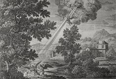Luke in the Phillip Medhurst Collection 419 The parable of the rich man and Lazarus: Dives and Lazarus die Luke 16:20-22 Perelle on Flickr. A print from the Phillip Medhurst Collection of Bible illustrations, published by Revd. Philip De Vere at St....