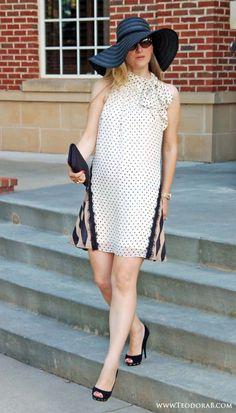 TeodoraB.com dots and cream #dress