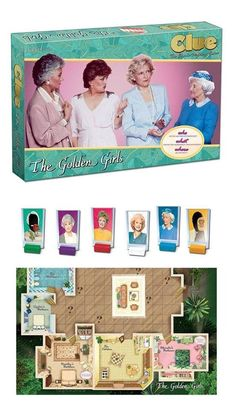 Find out who ate the cheesecake with the new Golden Girls Clue Board Game! Golden Girls Theme, Golden Girls Quotes, The Golden Girls, Clue Board Game, Board Games, Top Gear, Seinfeld, South Park, Clue Party