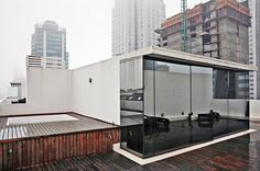 The private roof deck, seen here, has a hot tub and city views. In Buenos Aires, a triplex with an industrial heritage - Slide Show - NYTimes.com