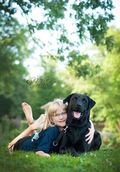 child with dog photography  - pet and kid photo session www.facebook.com/nicolecoffieldphotography