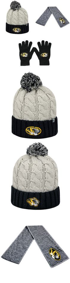 innovative design 39e2f 6f45e Hats 15630  Ncaa Missouri Tigers Gust Beanie Hat Hail Scarf And Tow Knit  Glove 3Pk 35834 -  BUY IT NOW ONLY   44.99 on eBay!