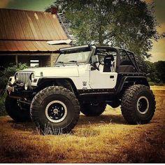 1997 Jeep Wrangler, Cj Jeep, Jeep Cars, Jeep Truck, Jeep Wrangler Unlimited, Jeep Rubicon, 2 Door Jeep, White Jeep, Badass Jeep