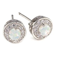 Trendy Pave Clear 5A CZ /& Turquoise  CZ Teardrop Halo Rhodium Dangle Earrings