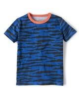 Printed T-shirt (Sail Blue/Slate Tiger)