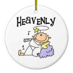 Heavenly Angel T-shirts and Gifts Ornament