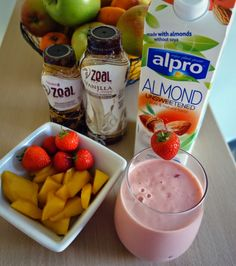 Fit for Life, Zeal for Life: FFL Recipes | Strawberry Mango Zeal Smoothie