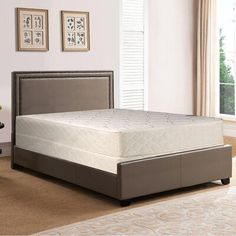 I Built This Several Months Back With No Box Springs End Up Being Really Nice To Sleep On Call Come Spring Bed Frame Bed Without Box Springs Box Spring Bed