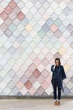 The dreamy pastel tiles of Sugarhouse Studios in London - @montgomeryfest
