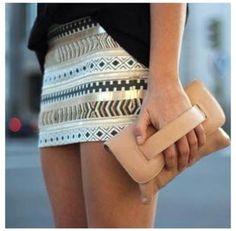 tribal skirt - don't you love it Tylsie