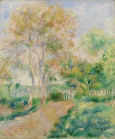 Pierre-Auguste Renoir - Autumn Landscape (Paysage d'automne)