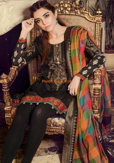 Buy latest Maria B Master Replica of unstitched Maria b collection in Pakistan. We sale Maria B first copy replica clothing online. Beautiful Dress Designs, Stylish Dress Designs, Stylish Dresses, Beautiful Outfits, Casual Dresses, Beautiful Clothes, Indian Bridal Fashion, Boho Fashion, Fashion Dresses