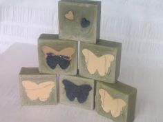 Lost in the Woods: Green clay soap