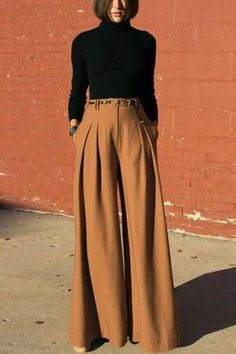 The fashion solid color wide leg pants with pocket pants is so casual and elegant you will like it. #pantsoutfit #jeans #pantsforwomen #pantsforwomencasual #jeans #women'sjeans #pantsforwomenfashion  #pantsoutfitwork #pantsoutfitcasual #highwaistedpants Jeans Women, Pants For Women, Pants Outfit, Wide Leg Pants, Pocket, Elegant, Chic, My Style, Lady