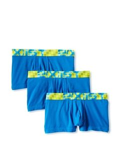 46% OFF 2(X)IST Men's No Show Trunks - 3 Pack (skydiver)