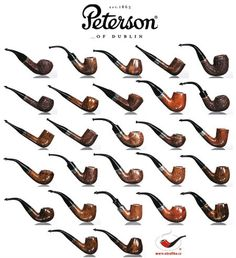 Dýmky Peterson, Peterson Pipes