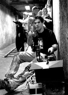 Eli Roth in The Hostel