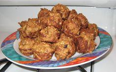 Apple Choc Milk Bites – Lactation Mini Muffins