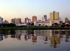 Asuncion, Paraguay. Can't wait to visit this summer and meet in-laws