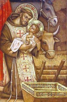 St Francis and the Christ Child    Terciarios Franciscanos Tradicionalistas