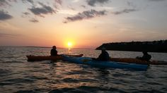 Our first Sunset Tour of the season was amazing!Book now to see this amazing Tour #kayak@ mackinackayak.com