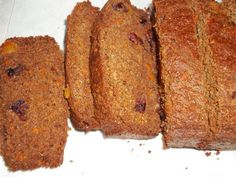 Clean Eating Carrot Bread Recipe by PAG2809 via @SparkPeople