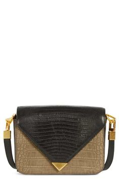 Alexander Wang 'Small Prisma' Embossed Leather Crossbody Bag