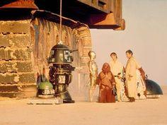 Detrás de escena de Star Wars (1977) | Taringa!