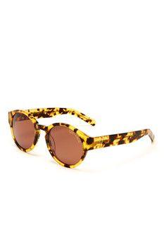 Bobby Roache Unisex Warhol Du Louvre Round Sunglasses