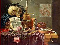 Peter Sion, Vanitas Still Life, 17th century