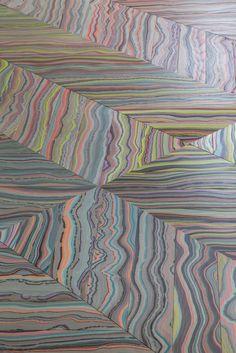 WOODlife Flooring and art meet. Marbelous Flooring by WOODlife Snedker Studio.