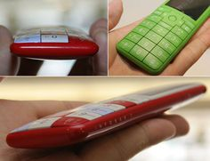 new line of cellphones designed by Naoto Fukasawa