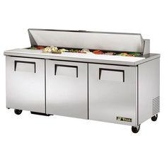Special Offers True TSSU Door Refrigerated Sandwich - Sandwich prep table for sale