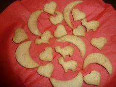 Baby Gogoshel: Biscuiti de casa pentru bebelusi - si nu numai Vegetarian Desserts, Ovo Vegetarian, Gluten Free Desserts, Healthy Cake, Crackers, Favorite Recipes, Sweets, Candy, Homemade