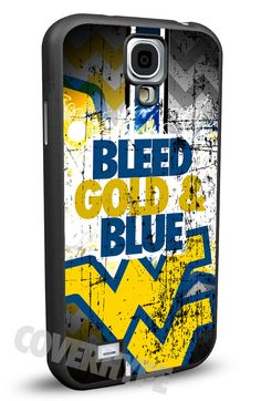West Virginia Mountaineers Cell Phone Hard Protection Case for Samsung Galaxy S5, Samsung Galaxy S4 or Samsung Galaxy S4 Mini