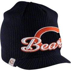 Chicago Bears Navy New Era Retro Viza Knit Hat $19.99