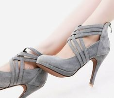 oh yum! with a thicker heel, i'd be all over those