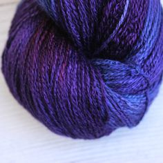 Purple Cat - Bellatrix,  Vegan Yarn, Bellatrix vegan yarn, wool free, hand dyed yarn, bamboo, organic cotton, fair trade, naturally dyed, cellulose yarn, vegetarian, cruelty free, sock yarn without wool, cotton blend sock yarn, wool alternative, hand dyed wool free yarn, naturally dyed cotton yarn, plant based, vegetal, botanical, ecological, low impact, cruelty free, herbivore, vegetalien, crochet, weave, weaving, crafting, supply, supplies, hand dyed, natural dye